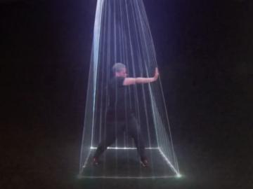 Warp, le premier numéro Laserman interactif