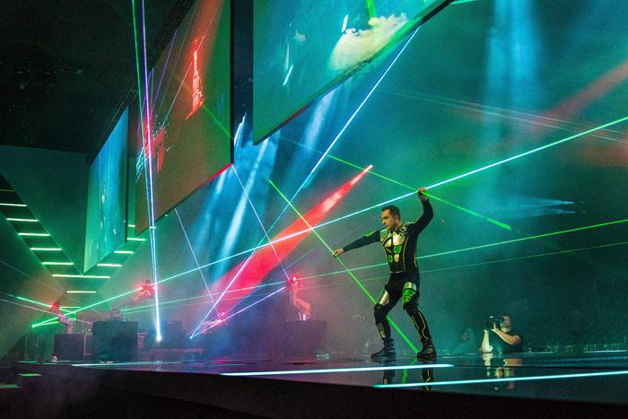 Laser man Storm