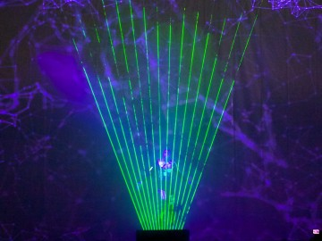 Ultimate Laserman with Video Mapping – Lithuania