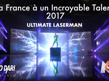 Antoine – ULTIMATE LASERMAN – La France à un Incroyable Talent 2017