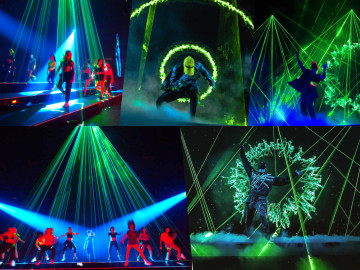 US tour for Lasermen – Theo Dari company
